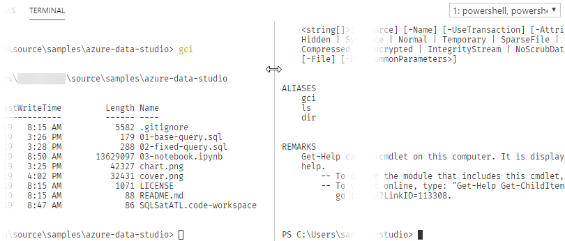 Azure Data Studio: Split Terminal – Sven Aelterman